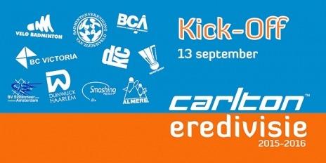 Kick-off Carlton Eredivisie 2015