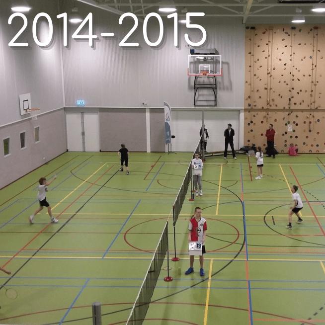 Jeugdcompetitie 2014-2015